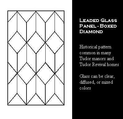 Tudor Windows tudor window leaded glass panels, stained glass