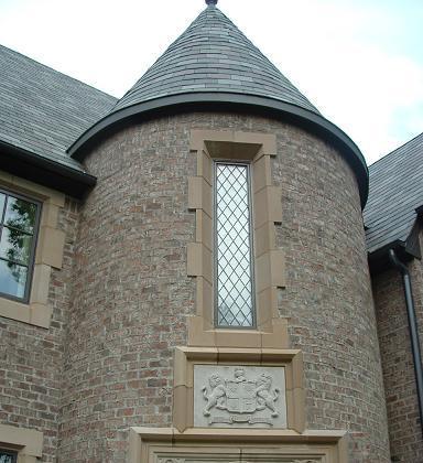 Tudor Artisans Example Glass Panels