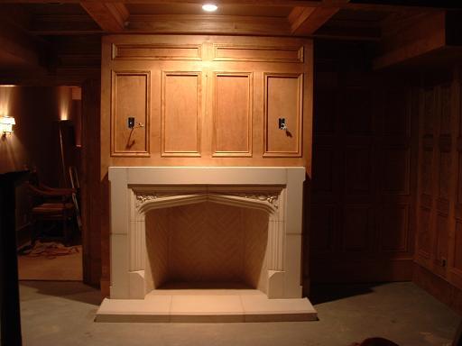Tudor Artisans Example Fireplaces