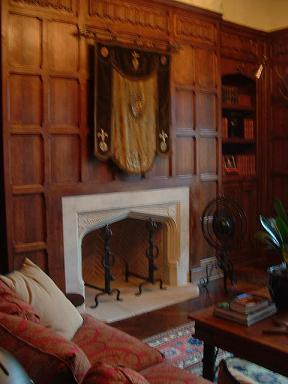 Outstanding Tudor Artisans Tudor Library Tudor Paneling Largest Home Design Picture Inspirations Pitcheantrous