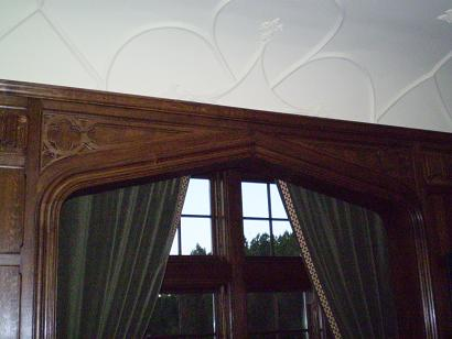 Quartersawn Oak Paneling Detail