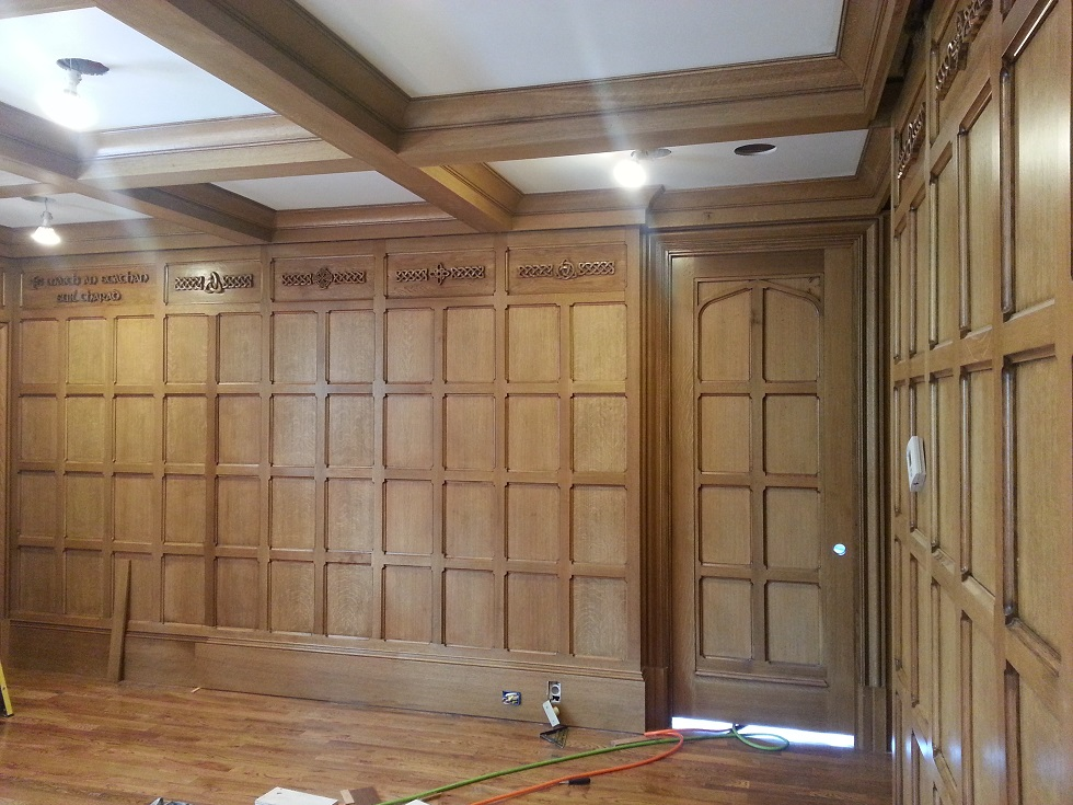 Peachy Tudor Artisans Tudor Library Tudor Paneling Largest Home Design Picture Inspirations Pitcheantrous