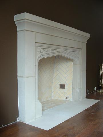 See examples of Tudor Stone Fireplaces