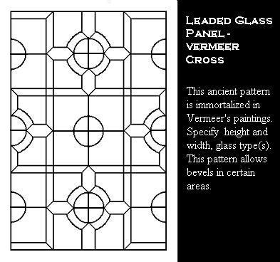 Tudor Window Leaded Glass Panels Stained Glass